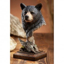 Smokey Black Bear Sculpture
