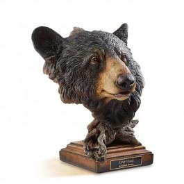 Deep Woods Black Bear Sculpture