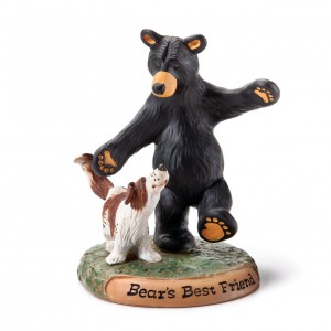 Bear's Best Friend Figurine