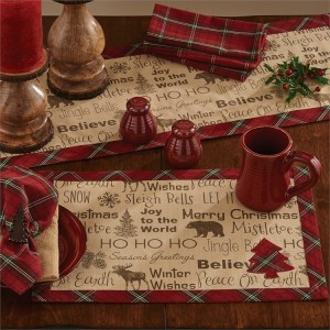 Highland Holiday Table Linens