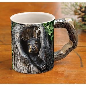 Cubby Hole Bear Mug