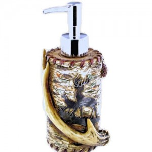 Buck Antlers Soap Dispenser