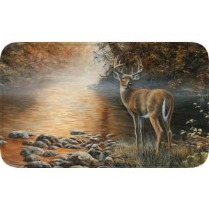 Beside Still Water - Deer Memory Foam Bath Mat