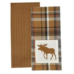 Moose Dishtowel Set of 2