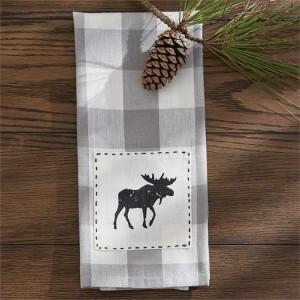 Moose Patch Dishtowel
