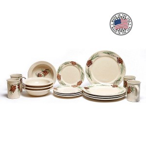 Mountain Pine Dinnerware Set of 8
