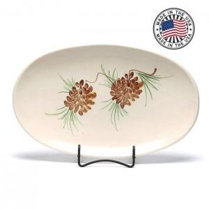 Mountain Pine Oval Platter 12 x 7.5