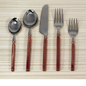 Hammered Copper Flatware
