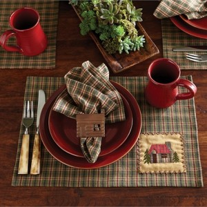 Country Cabin Table Linens