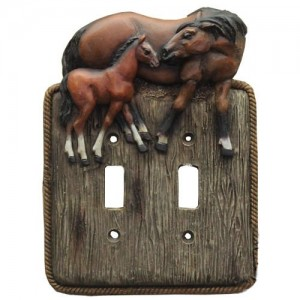 Horse Switch Plates Collection