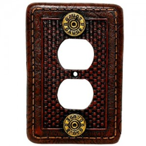 12 Gauge Shotgun Shell Light Switch Covers