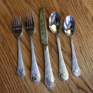 Wildlife 20 Piece Flatware Set