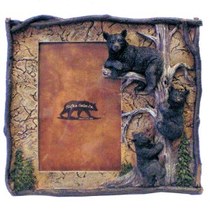 Bears in Tree Picture Frame