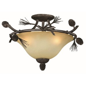Sierra Semi-Flush Ceiling Light