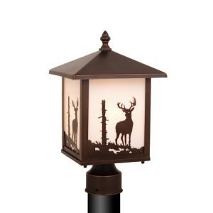 Yellowstone Deer Post Light