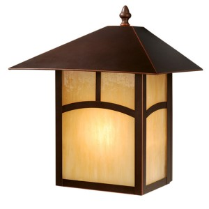 Mission II Outdoor Sconce