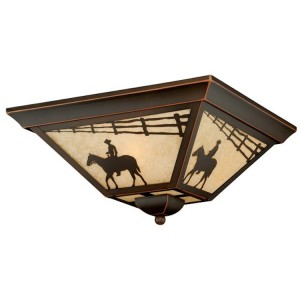 Lonesome Trail Ceiling Light