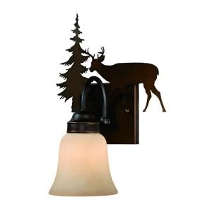 Bryce Deer Single Wall Sconce