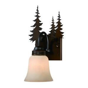 Yosemite Pine Tree Single Wall Sconce