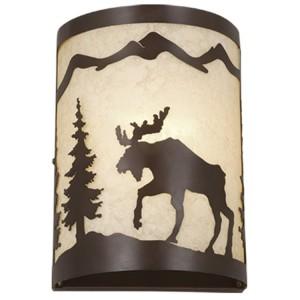 Yellowstone Moose Sconce