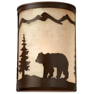 Bozeman Bear Sconce