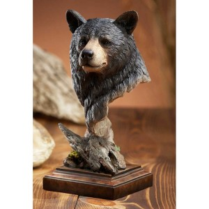 Smokey Black Bear Sculpture