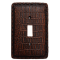 Faux Crocodile Skin Switch Covers