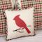 Hollis Cardinal Pillow