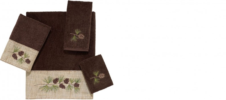 Pine Branch Towel Sets