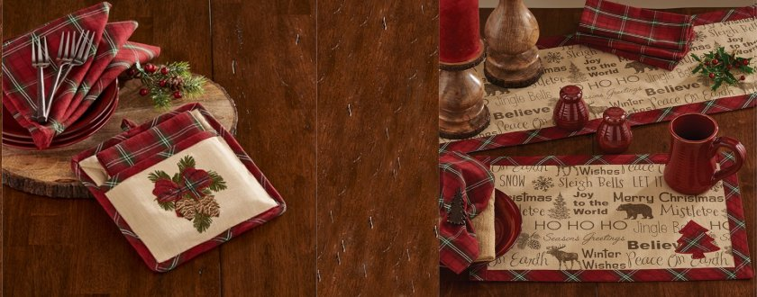 Highland Table Linens
